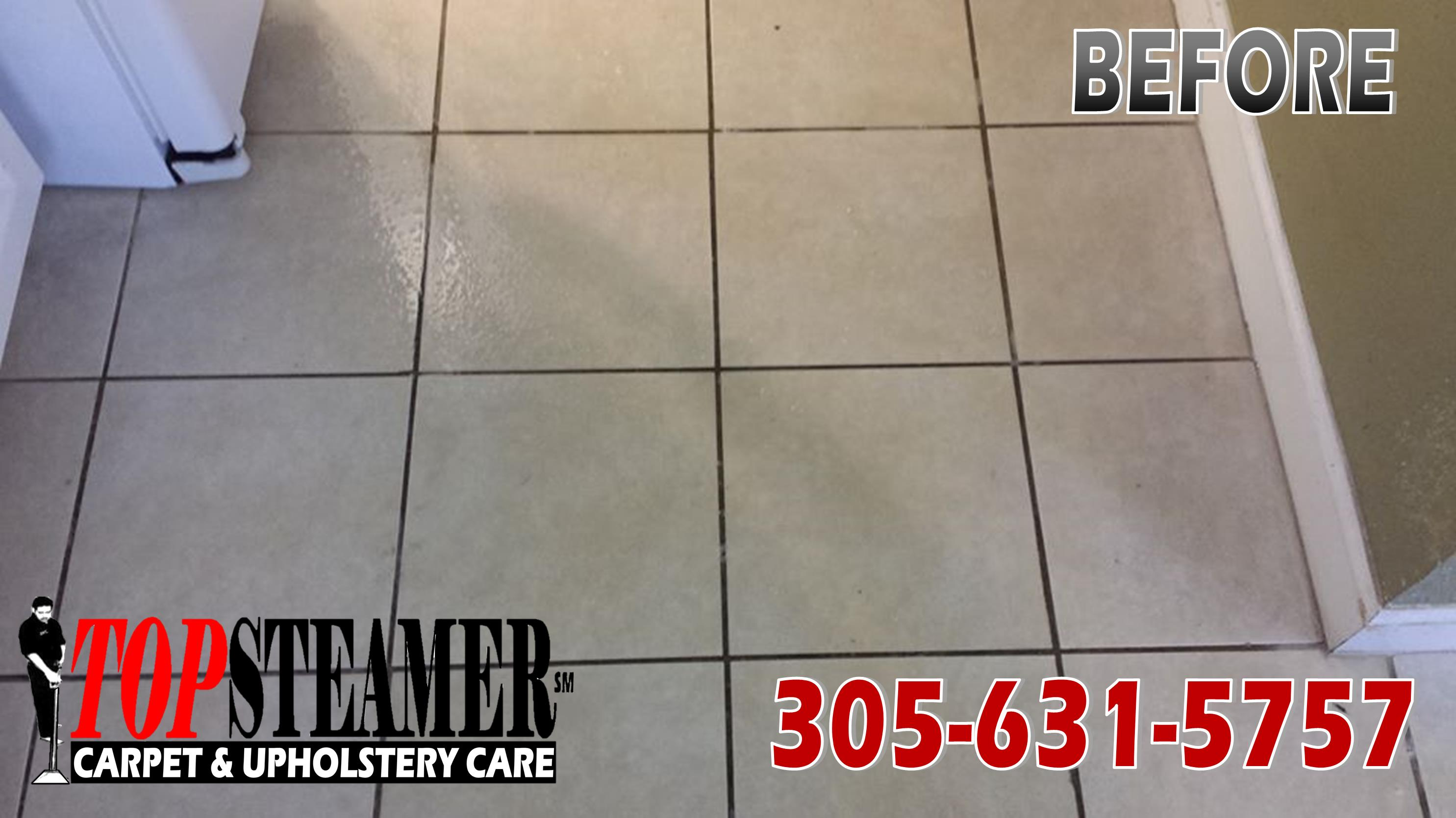 tile and grout cleaning in kendall before cleaning