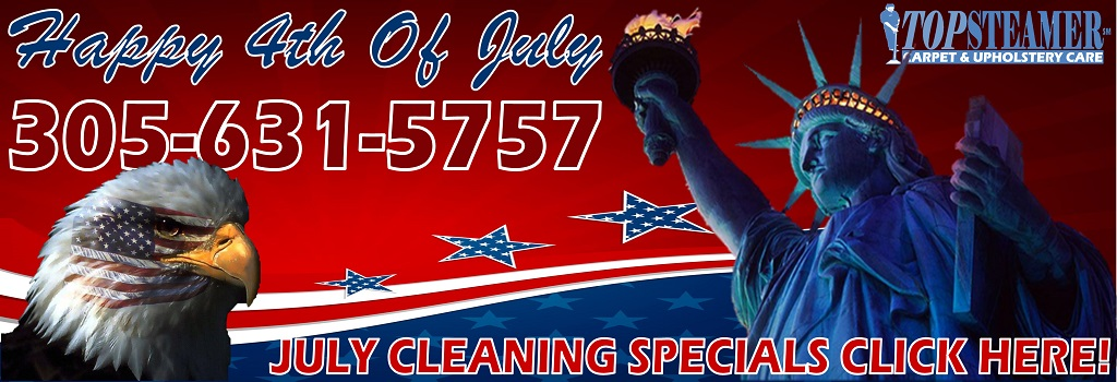 Happy 4th of July Click Here For Cleaning Specials!