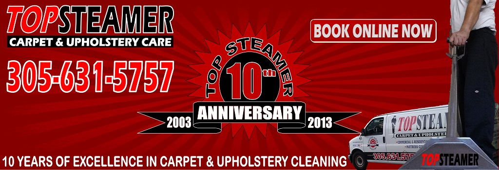 Ten Years Of Excellence In Carpet Cleaning